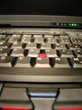 Teclado del cuaderno de la computadora portátil Imagen de archivo