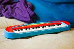 Teclado del juguete Foto de archivo libre de regalías