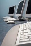 Teclado del sitio de trabajo Fotos de archivo libres de regalías