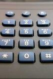 Teclado del teléfono Imágenes de archivo libres de regalías