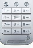 Teclado del teléfono móvil Foto de archivo libre de regalías