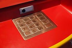 Teclado do ATM Foto de Stock