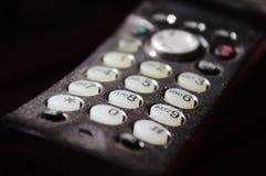 Teclado do telefone Fotografia de Stock