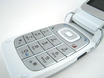 Teclado do telefone Foto de Stock