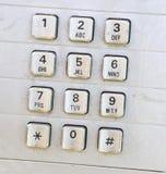 Teclado do telefone Imagens de Stock Royalty Free