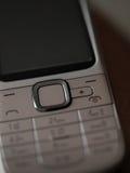 Teclado do telefone celular foto de stock