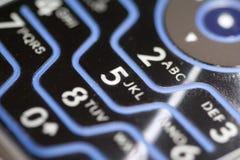 Teclado do telefone de pilha Imagem de Stock Royalty Free