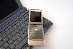 Teclado do telefone e de computador fotografia de stock royalty free
