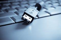 Teclado do USB Imagens de Stock