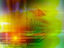 Teclado e espaço Foto de Stock