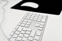 Teclado e rato de computador Imagens de Stock