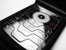 Teclado móvil del teléfono celular Imagen de archivo