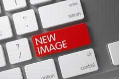 Teclado novo da imagem 3d Fotografia de Stock Royalty Free
