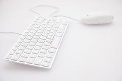Teclado y ratón Fotografía de archivo libre de regalías