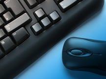 Teclado y ratón Imagenes de archivo