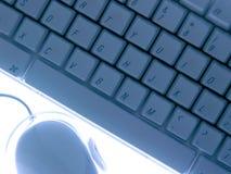 Teclado y ratón Foto de archivo libre de regalías