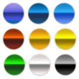 Teclas coloridas Fotografia de Stock Royalty Free