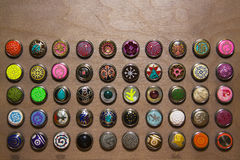 Teclas coloridas Fotos de Stock