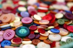Teclas coloridas Fotos de Stock Royalty Free
