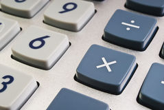 Teclas da calculadora Foto de Stock