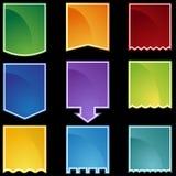 Teclas da gota de bandeira Imagens de Stock