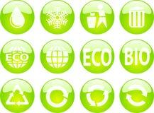 Teclas de Eco Ilustração Stock
