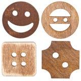 Teclas de madeira Fotos de Stock