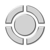 Teclas do controle do jogador ilustração royalty free