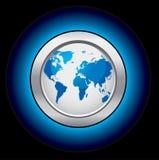 Teclas do globo da ecologia ilustração do vetor