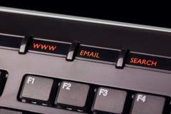 Teclas do teclado Imagem de Stock Royalty Free