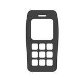 Teclas do telefone da pilha Phone Fotos de Stock Royalty Free