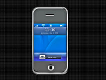 Teclas do telefone da pilha Phone Foto de Stock Royalty Free