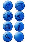 Teclas do Web Fotografia de Stock