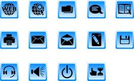 Teclas do Web Imagens de Stock