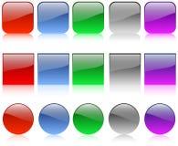 Teclas do Web Fotos de Stock
