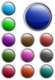 Teclas do Web Imagem de Stock