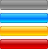 Teclas do Web. ilustração stock