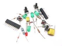 Teclas e interruptores Imagem de Stock