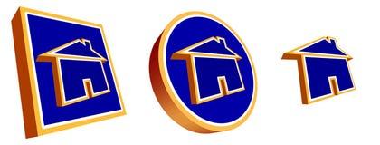 Teclas Home Fotos de Stock Royalty Free