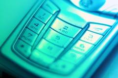 Teclas móveis foto de stock