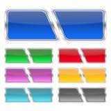 Teclas Multi-colored Imagens de Stock