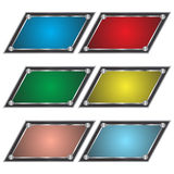 Teclas Multi-colored Imagem de Stock