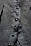 Teclas pretas do vestido Foto de Stock Royalty Free