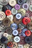 Teclas Sewing Imagens de Stock Royalty Free