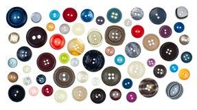 Teclas Sewing Fotografia de Stock