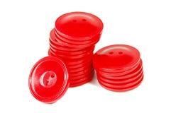 Teclas vermelhas Foto de Stock