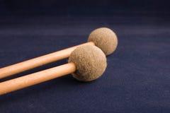 Teclee los palillos Imagen de archivo