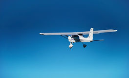 Tecnam P92 Classic in flight Stock Photo