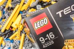 Tecnica di LEGO Fotografie Stock Libere da Diritti