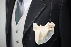 Tecnica fatta a mano del vestito di cerimonia Immagine Stock Libera da Diritti